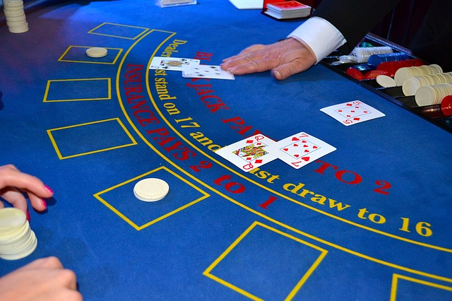 Croupier - Der Dealer beim Blackjack